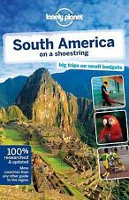 Lonely Planet South America on a shoestring (Travel Guide)-ExLibrary