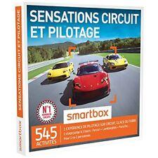 Smartbox - Sensations Circuit & pilotage Coffret Box Cadeau Sport et aventure