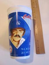 Ron Guidry New York Yankees 1996 souvenir plastic cup Coke Cola