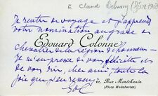 DEBUSSY (Composer): Important Collection of Letters and Telegrams to Debussy