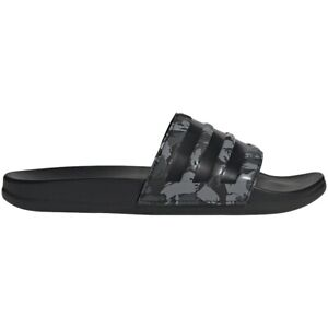 Mens Adidas Adilette Comfort Grey Multi Slides Athletic Sandal FZ1755 Size 8