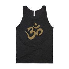 Om AUM Camiseta sin mangas AF sánscrito Mandala LOTUS YOGA tatuaje impreso Chaleco para hombre mujer