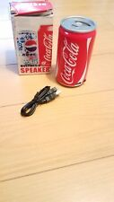Coca Cola Multimedia Speaker Usb collectors