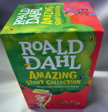 AMAZING STORY COLLECTION Roald Dahl 7 Paperback Books in Slipcase