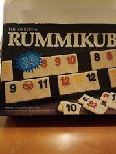 Vintage, 1990 Pressman Rummikub Rummy Tile Game Complete in Box ,