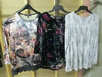Lot of 3 Beautiful Women's Designer Tops! Size Small! Gently Owned!