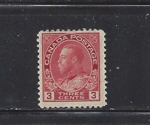 CANADA - 109c - TY II - MH - 1924 -  KING GEORGE V