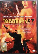Dvd My name is Modesty di Scott Spiegel 2004 Usato