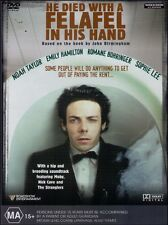 HE DIED WITH A FELAFEL IN HIS HAND (Noah TAYLOR Sophie LEE) Aussie Film DVD Reg4