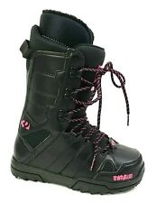 ThirtyTwo Ws Exit Snowboard Boots Womens Size 6  Black Pink