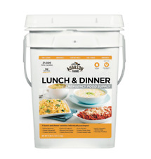 Augason Farms Emergency Food Supply Pail 20,020 Total Calories Lunch & Dinner