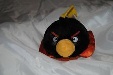 """Angry Bird Space Plush Bomb Black 7"""" with Sound"""