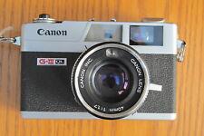 Canonet QL17 / GIII 35mm Rangefinder Camera w/ fresh CLA and Warranty