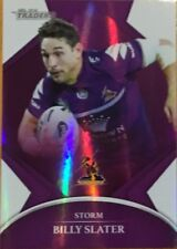 2016 NRL TRADERS MELBOURNE STORM PARALLEL BILLY SLATER CARD PO69 FREE POST