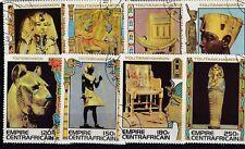 Empire CENTRAFRICAIN 1978 ob BANGHI Trésor Toutankhamon 598-605 349-356