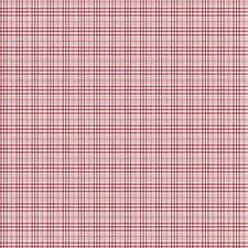 Wallpaper Vintage Cottage Red and Eggshell White Small Mini Plaid