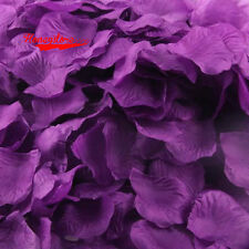 100pcs Simulation Rose Confetti Petals Wedding Party Table Supplies Decorations