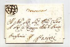 U211-REP.VENETA-LETTERA DA VENEZIA FRANCA X PANIGAI 1778