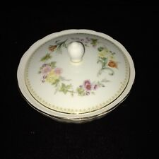 SIGNED Wedgwood Mirabelle Bone China Murray Dish with Lid
