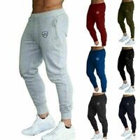 Sweat Joggers Tracksuit Slim Men Pants Jogging Sport Skinny Fit Hot Gym Trousers