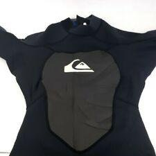 QUIKSILVER Men's 2/2 SYNCRO S/S Black Springsuit Large 52 Shorty Wetsuit 2mm