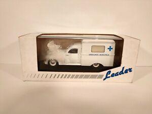 LEADER 2139 peugeot 203 ambulance - echelle 1/43