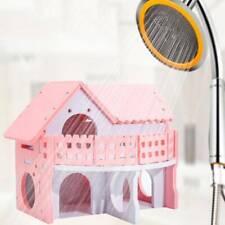 Mini Pet Rat Hamster House Sleeping Bed Nest Plush Hammock Cages Accessories LD
