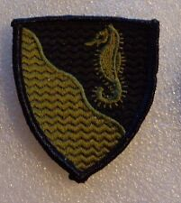 ARMY PATCH, 36TH ENGINEER BRIGADE,OD GREEN,  WAVY LINES