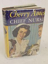 Helen Wells  CHERRY AMES  CHIEF NURSE  Grosset & Dunlap, New York  c. 1944