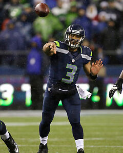 Russell Wilson - Seattle Seahawks, 8x10 Color Photo