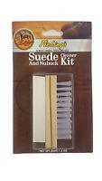 Fiebings Suede & Nubuck Cleaner Kit Block Brush Eraser Bar New!
