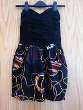 Motel sexy mini bandeau dress with hidden pockets on the side size XS RRP £45