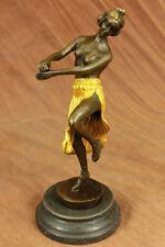 Handcrafted bronze sculpture SALE Offic Home Cast Hot Eichler Theodor Original