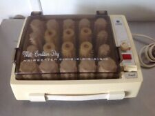 Vintage GE General Electric Hot Rollers B2HCD-4  Mist Condition Dry Hair setter