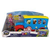 Disney Jr Muppet Babies Friendship School Bus Lights Music Sounds Ages 3 And Up