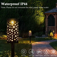 Stern Mond LED Solarlampe Solarleuchte Gartenlicht Außen Beleuchtung Leuchte DE
