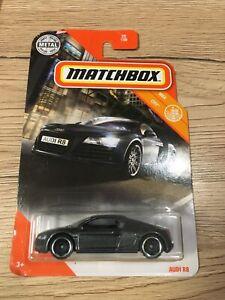 Matchbox Long card Audi R8