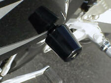 2005-2008 Kawasaki Ninja ZX6 ZX6R ZX10 ZX10R BLACK FRAME SLIDERS