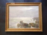 Antique Watercolour Landscape Painting, Alswen Montgomerie, Listed Artist, 1920s