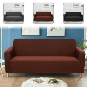 3 Seater Elastic Sofa Covers  Slipcover Settee Stretch Couch Protector Universal