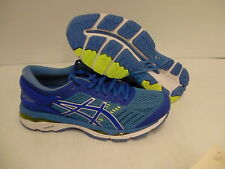 Asics women's gel kayano 24 (D) blue purple regatta blue running shoes size 8 us