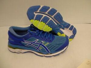 Asics women's gel kayano 24 (D) blue purple regatta blue running shoes size 8 us