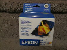 Epson S020089 Color Ink Cartridge Stylus 400 600 800 Genuine OEM Exp 2006