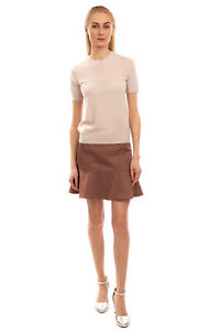 RRP €285 MAISON MARGIELA Wool Top Size M Thin Knit Short Sleeve Made in Italy