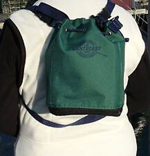 Nantucket Bagg Bag IDDY BAGG BRICK FOREST GREEN waist pack, tiny tote & backpack