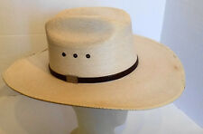 587b9c39d58 Texas Hat Genuine Palm Leaf Western Hat 6 3 4 Mexico