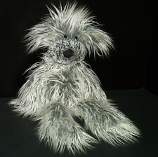 Jellycat Plush Dog Scruff Pup Long Hair Retired DAMAGED Stuffed Animal 18 Inch