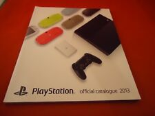 Officlal Playstation 2013 Promo Japan Catalog PS4 Final Fantasy XV Phantasy Star