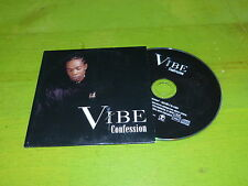 VIBE - CONFESSION !!!!!!!!!!!!RAP OLD SCHOOL !!!!!!RARE CD PROMO!!!!!!