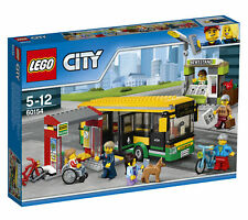 New Sealed In-Box Retired Lego City: Bus Station - Set #60154